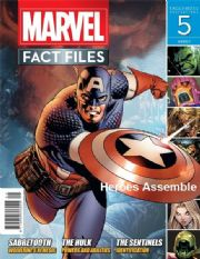 Marvel Fact Files #05 Eaglemoss Publications